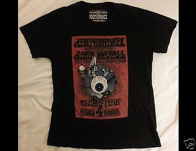 JIMI HENDRIX Size Large Black T-Shirt