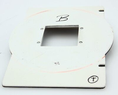 Omega D Series Negative Carrier, 6X6cm Film 57x57mm Opening  #362409