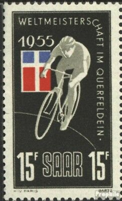 Saar 357VII (complete issue) extended W unmounted mint / never hinged 1955 cycli