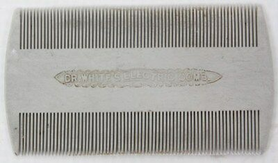 Vintage Early 1900's Dr. White's Quack Medical Device Electric Comb