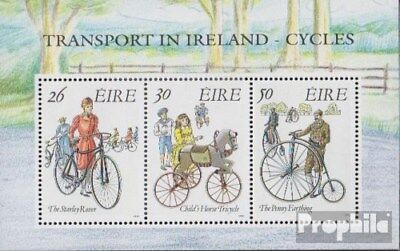 Ireland block8 (complete issue) unmounted mint / never hinged 1991 Bicycles