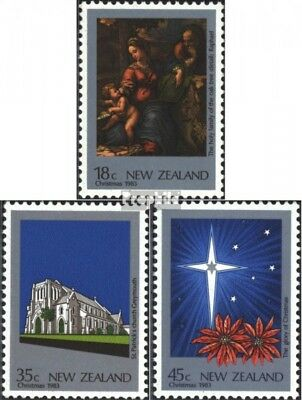 New Zealand 881-883 (complete issue) unmounted mint / never hinged 1983 christma