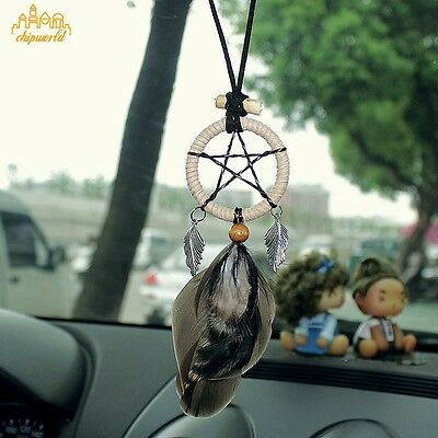 Mini Star Dream Catcher Car Accessories Pendant Hanging Decoration Gift Small