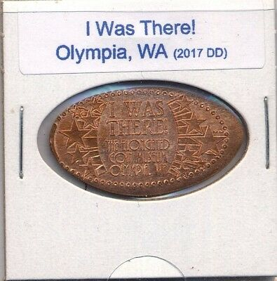 OLYMPIA, WA ELONGATED CENT: Olympia Elongated Coin Museum I WAS THERE NEW DESIGN
