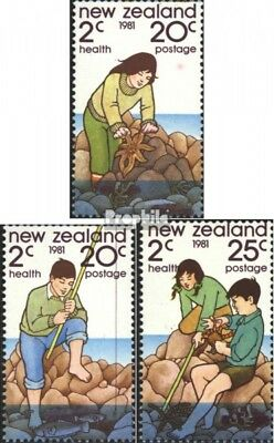 New Zealand 828-830 (complete issue) unmounted mint / never hinged 1981 Health