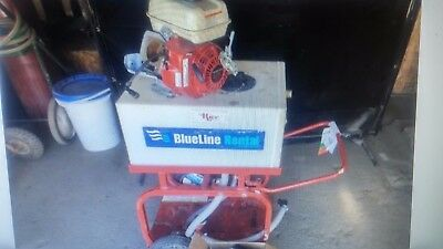 2016 Rice Hydrostatic Test Pump With Honda Engine needs rebuilt or replace