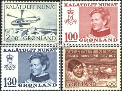 Denmark-Greenland 100,101-102,104 (complete issue) unmounted mint / never hinged