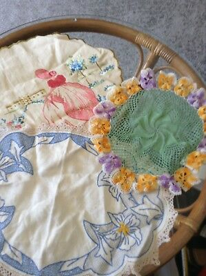 3 lovely doilies