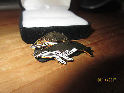 Humpback Whale And Baby Collectible Pin