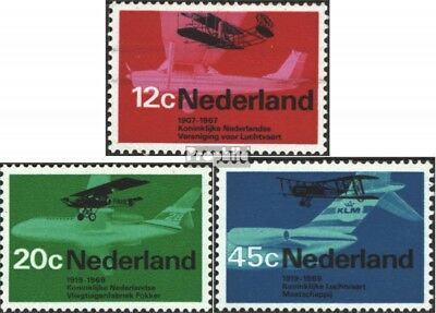 Netherlands 902-904 (complete issue) unmounted mint / never hinged 1968 Aviation