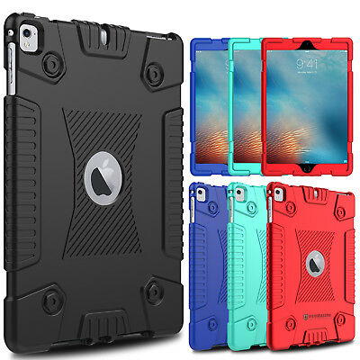 For iPad 9.7 inch 2017/2018/Air 2/5/6 Shockproof Soft Slim Silicone Case Cover