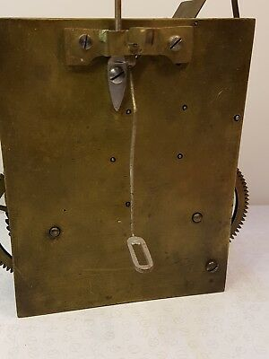 Longcase grandfather clock movement B