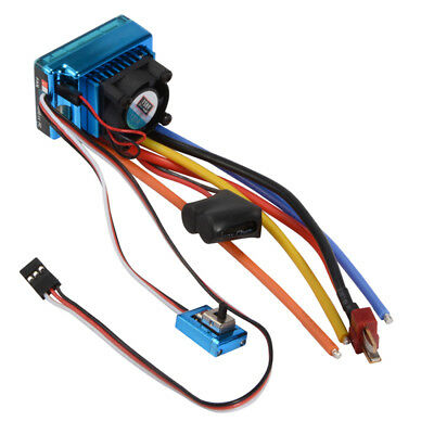 120A ESC Sensored Brushless Speed Controller for 1/8 1/10 Car Truck Hobby RC646