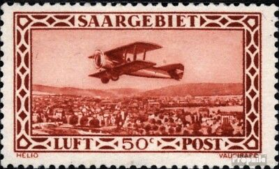 Saar 126 used Airmail