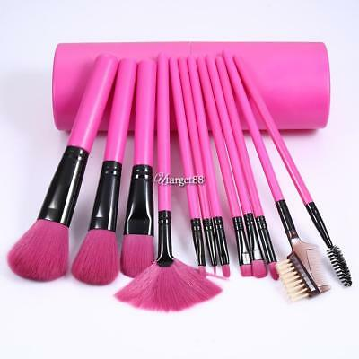 12x Pro Makeup Brushes Set Foundation Powder Eyeshadow Eyeliner Lip Brush Tool++