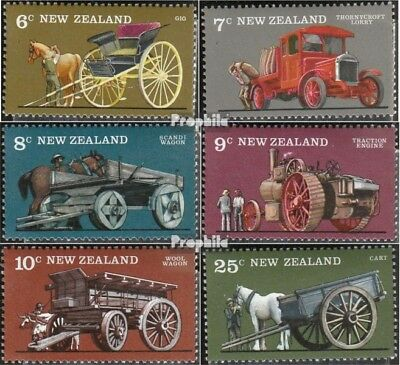 New Zealand 681-686 (complete issue) unmounted mint / never hinged 1976 Agricult