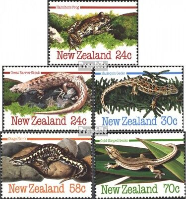 New Zealand 901-905 (complete issue) unmounted mint / never hinged 1984 Amphibia