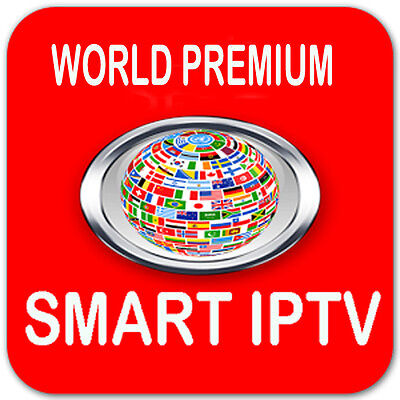 WORLD Premium IPTV Subscription 1 Month SAMSUNG&LG Smart TV MAG 254 MAG 256 M3u