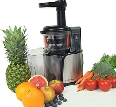 Jack Stonehouse Quiet Easy to Clean Masticating Slow Fruit Juicer