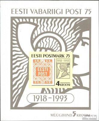 Estonia block5 (complete issue) unmounted mint / never hinged 1993 Stamps