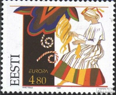 Estonia 301 (complete issue) unmounted mint / never hinged 1997 Say
