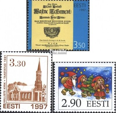 Estonia 311,312,313 (complete issue) unmounted mint / never hinged 1997 special