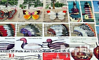 U.S. 50 different stamps  out stamp booklet and together print