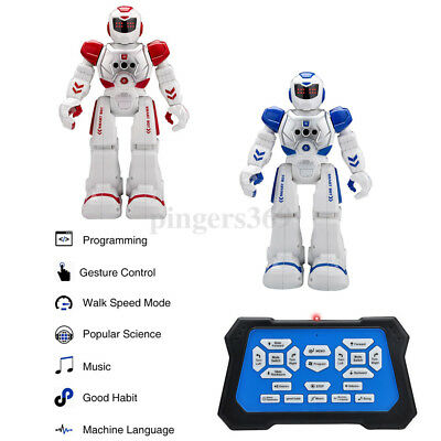 RC Remote Control Robot Smart Action Infra-red Allows Gesture Sensor Kids Toy