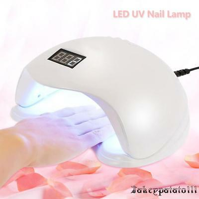 48W SUN5 LED Nail Light UV Lamp Manicure Dryer Curing Gel Nail Polish Art Tool