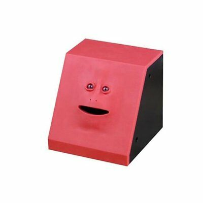 Red Face Bank Money Eating Box Sensor Coin Saving Bank Piggy Bank Money Boxes