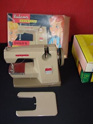 Vulcan Countess Child's Sewing Machine in Box