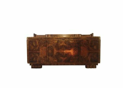 Art Deco Sideboard in Walnut Wood