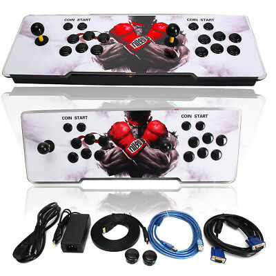 986 in 1 Video Games Pandora's Box 4s Double Stick Home Arcade Console + Light