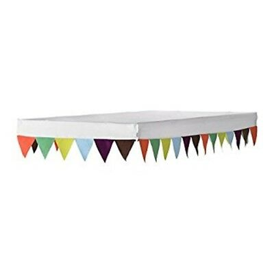 IKEA Ovre bed canopy multi coloured bunting flags 102.557.36 NEW