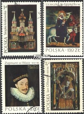 Poland 2346-2349 (complete issue) unmounted mint / never hinged 1974 Polish Art