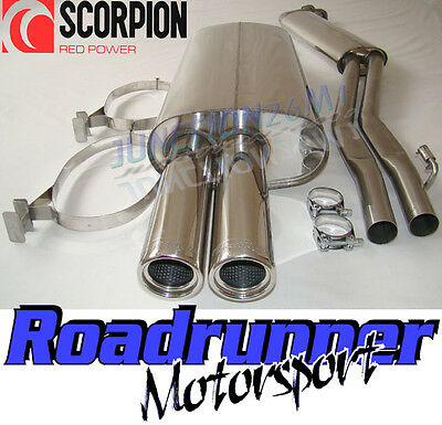 Scorpion Stainless Exhaust BMW 325 E30 (85-88) Half System Inc Cabrio & Touring