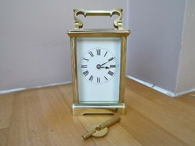 Quality Brass Striking Carriage Clock