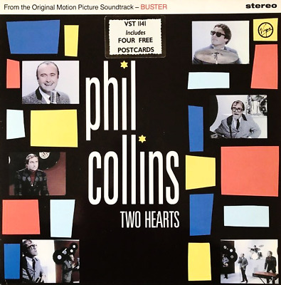 """PHIL COLLINS - Two Hearts (12"""") (VG/VG+)"""