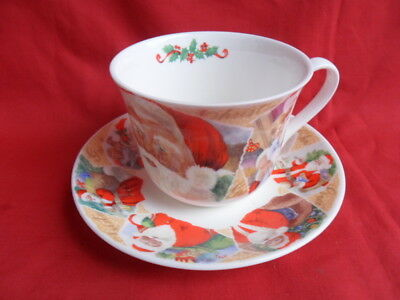 Roy Kirkham Christmas Past, large Breakfast Cup & Saucer
