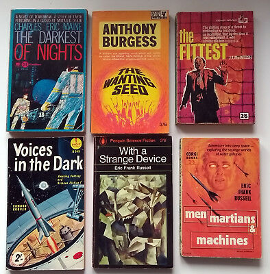 A Collection of 6 golden age British science fiction books Russel,MaIntosh.