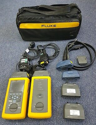 Fluke DSP Cable Analyzer Fully Loaded (MM Fibre, Cat5e, Cat6) DTX Network Tester