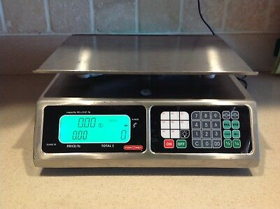 Torrey LPC-40L Price computing Scale, CERTIFIED Legal For Trade