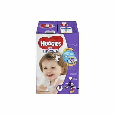 Huggies Little Movers Diapers Step 5 132 Count Econo Plus Step 5, 132-Count