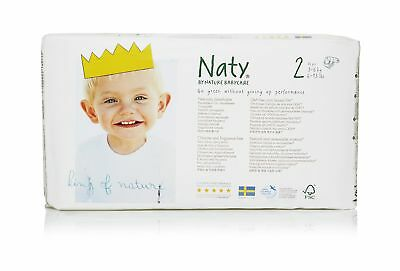 Nature Babycare Eco-Diapers Size-2 34 Count (Pack of 4) Size 2, 136 Count