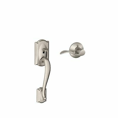 Schlage FE285 CAM 619 ACC RH Camelot Front Entry Handleset with Interior Acce...