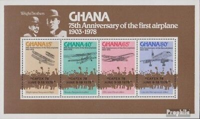 Ghana block77a (complete.issue.) unmounted mint / never hinged 1978 Philately