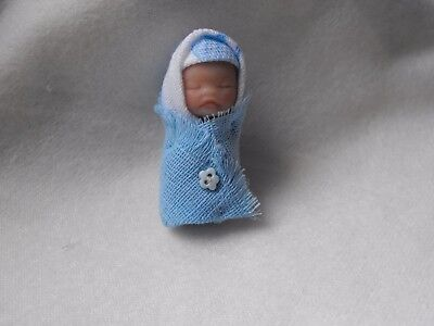 OOAK   5 cm bundle baby dollshouse  1/12th baby doll  by Harry