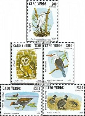Cape Verde 445-449 (complete.issue.) unmounted mint / never hinged 1981 Birds