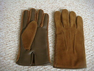 """Vintage Men's """"IMPOL"""" Empire Made 1960's Driving Gloves Size L"""