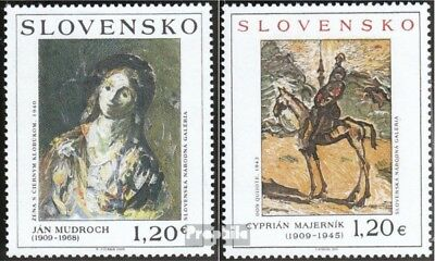 Slovakia 625-626 (complete.issue.) unmounted mint / never hinged 2009 Art